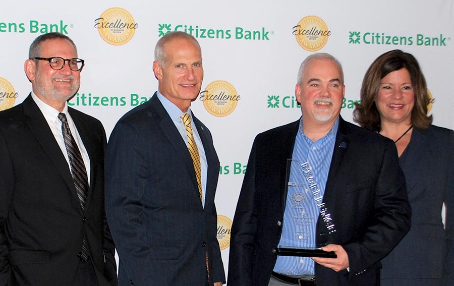 Laconia security turnstile manufacturer honored with title from NH Business Review Business Excellence Awards